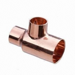 copper-unequal-tee-fittings